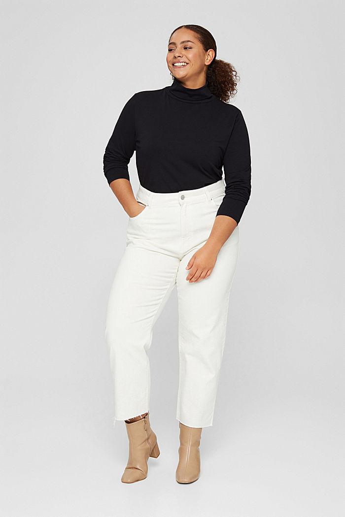 T-Shirts regular fit, BLACK, detail image number 5