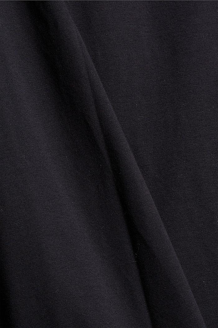 T-Shirts regular fit, BLACK, detail image number 4