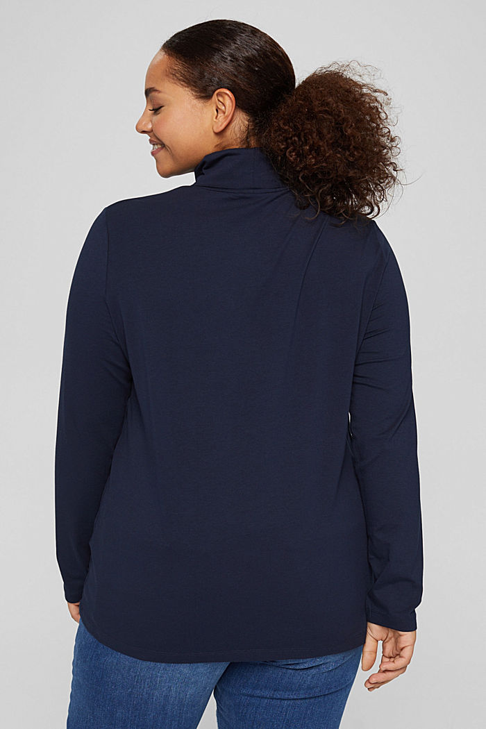 T-Shirts regular fit, NAVY, detail image number 3