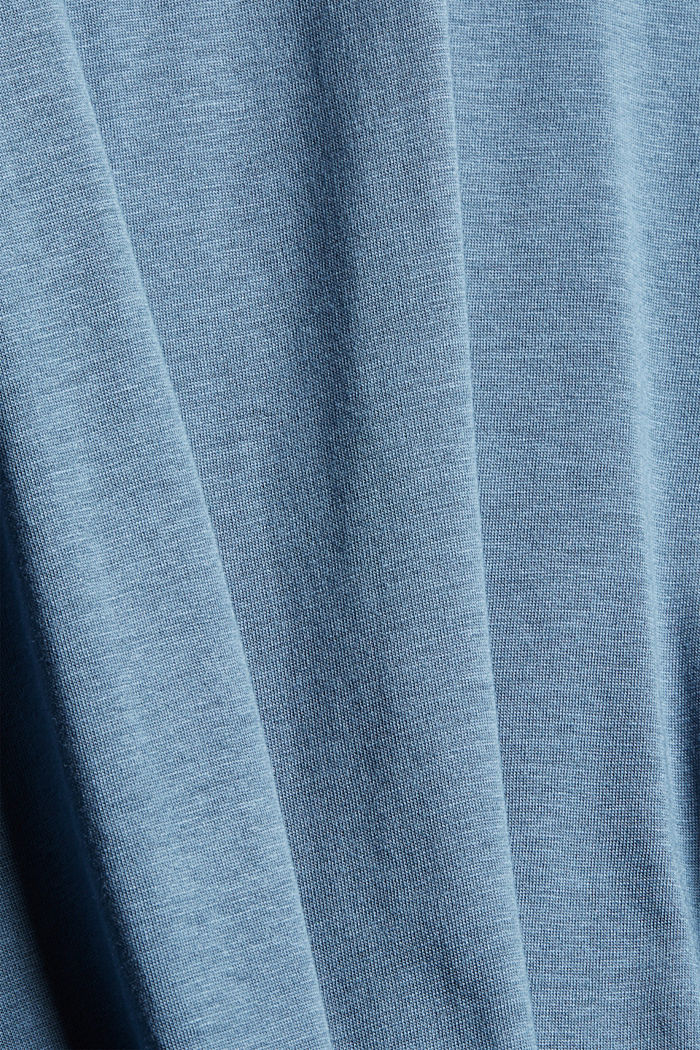 CURVY Longsleeve mit Rollkragen, TENCEL™, GREY BLUE, detail image number 4