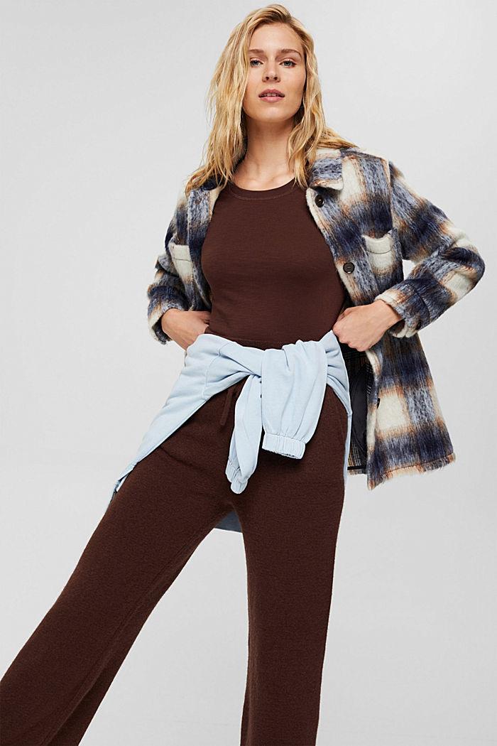 Tričko s dlouhým rukávem ze 100% bio bavlny: