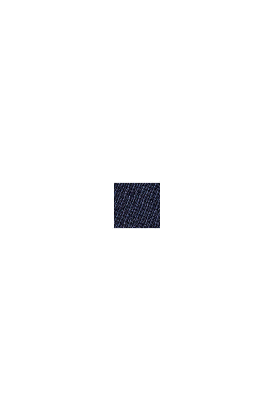 Longsleeve aus 100% Bio-Baumwolle, NAVY, swatch