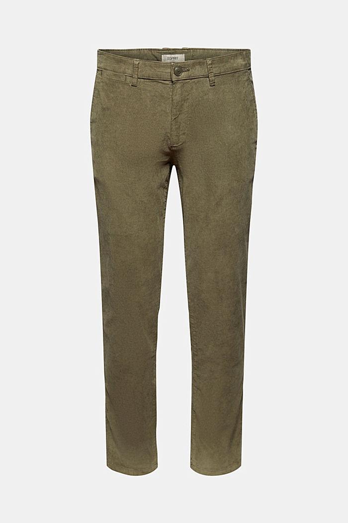 Pantaloni di velluto EarthColors® in cotone biologico