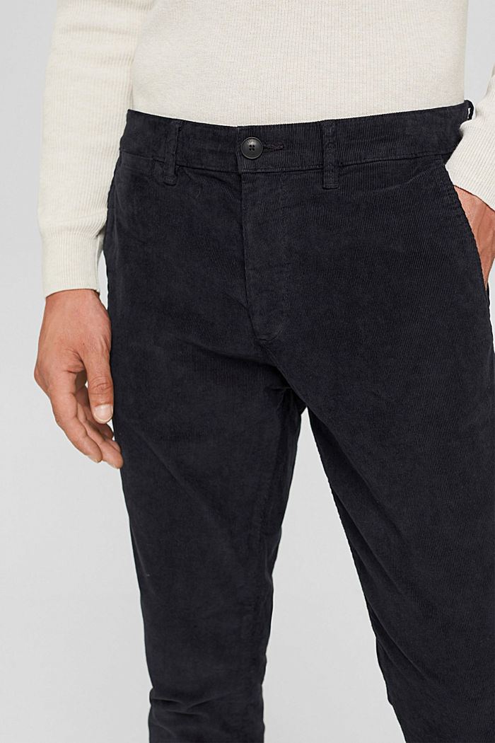 Pants woven Relaxed Slim Fit, DARK BLUE, detail image number 2