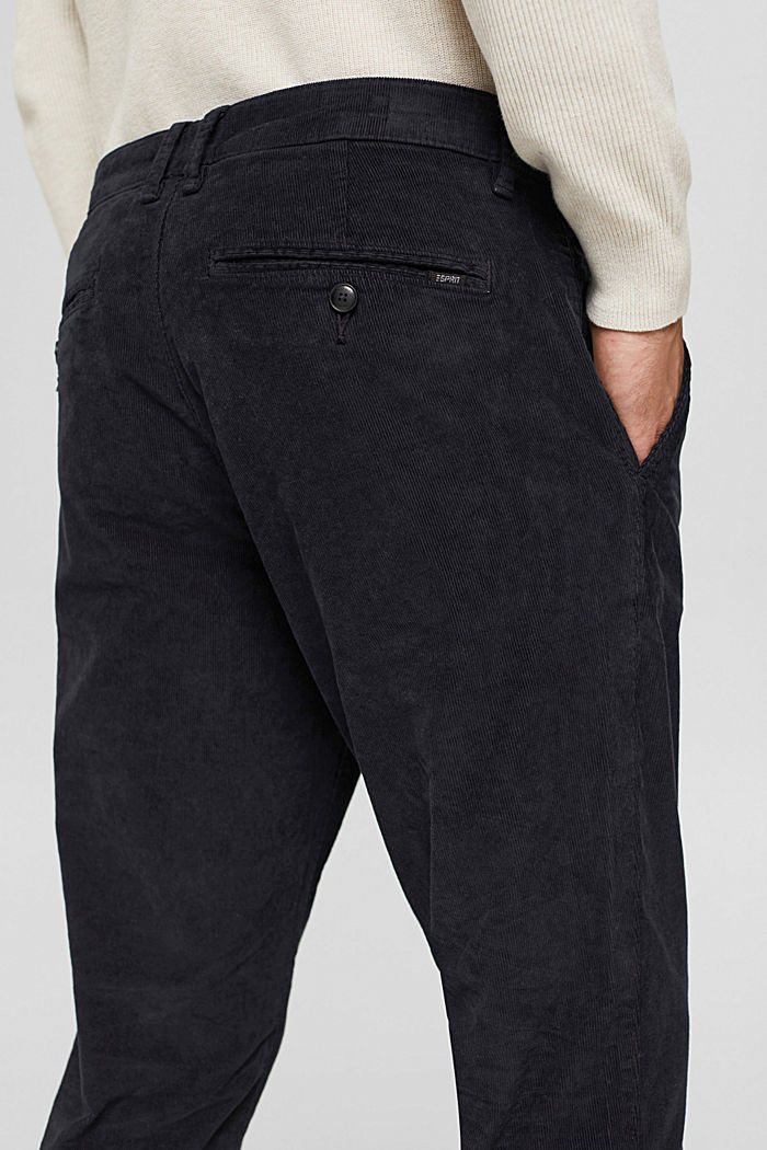 Pants woven Relaxed Slim Fit, DARK BLUE, detail image number 5