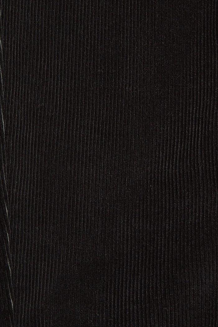 Cordhose aus 100% Organic Cotton, ANTHRACITE, detail image number 4
