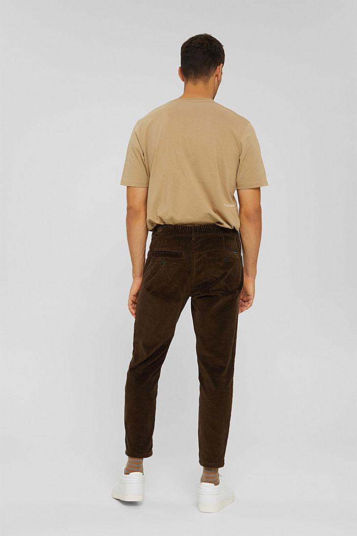 Corduroy broek van 100% organic cotton, BROWN, detail image number 3