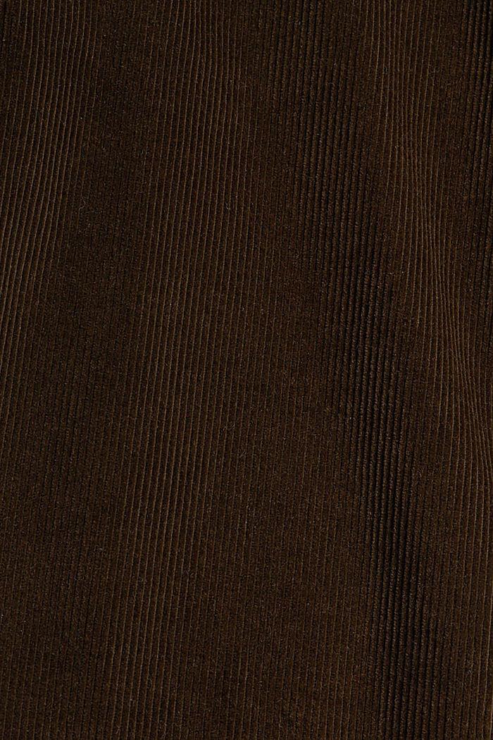 Corduroy broek van 100% organic cotton, BROWN, detail image number 4