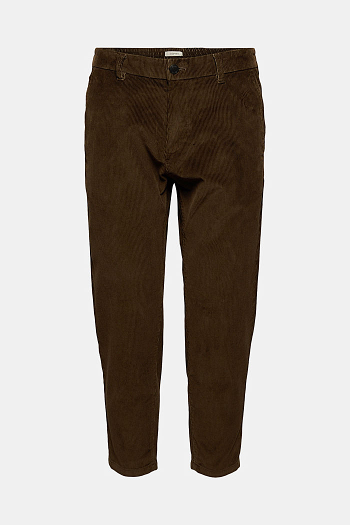 Corduroy trousers made of 100% organic cotton
