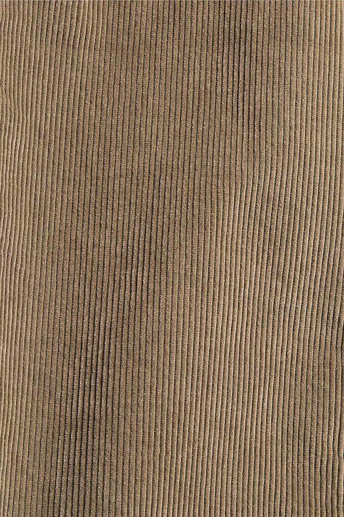 Cordhose aus 100% Organic Cotton, PALE KHAKI, detail image number 4