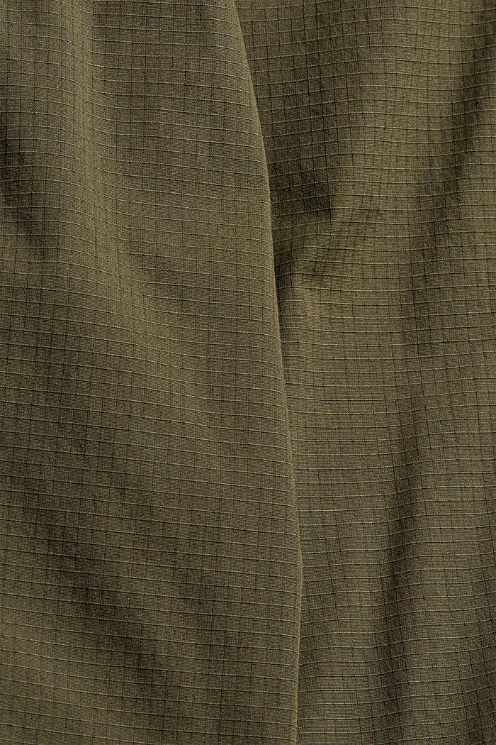 Cargohose aus Bio-Baumwoll-Mix, DARK KHAKI, detail image number 4