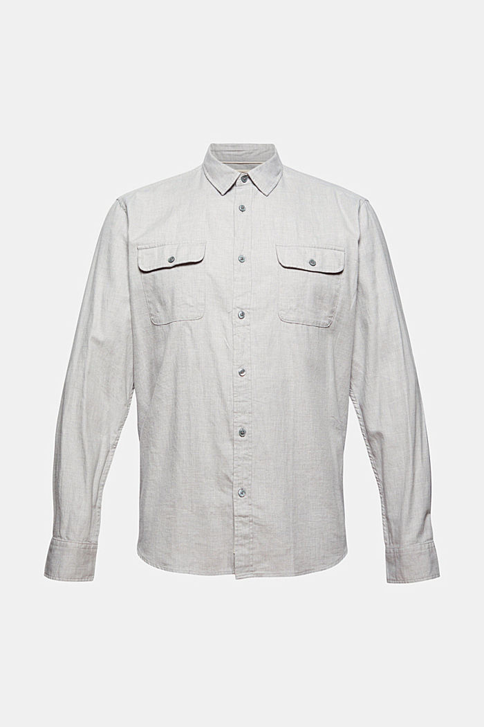 Shirts woven Regular Fit, LIGHT GREY, detail image number 6