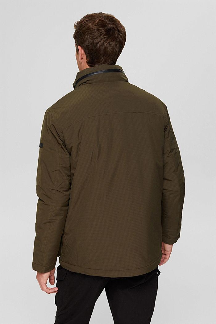 Jackets outdoor woven, DARK KHAKI, detail image number 3