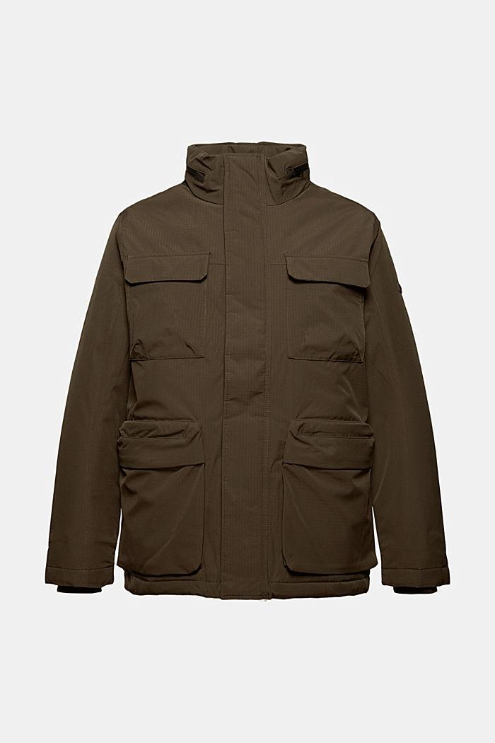 Jackets outdoor woven, DARK KHAKI, detail image number 7