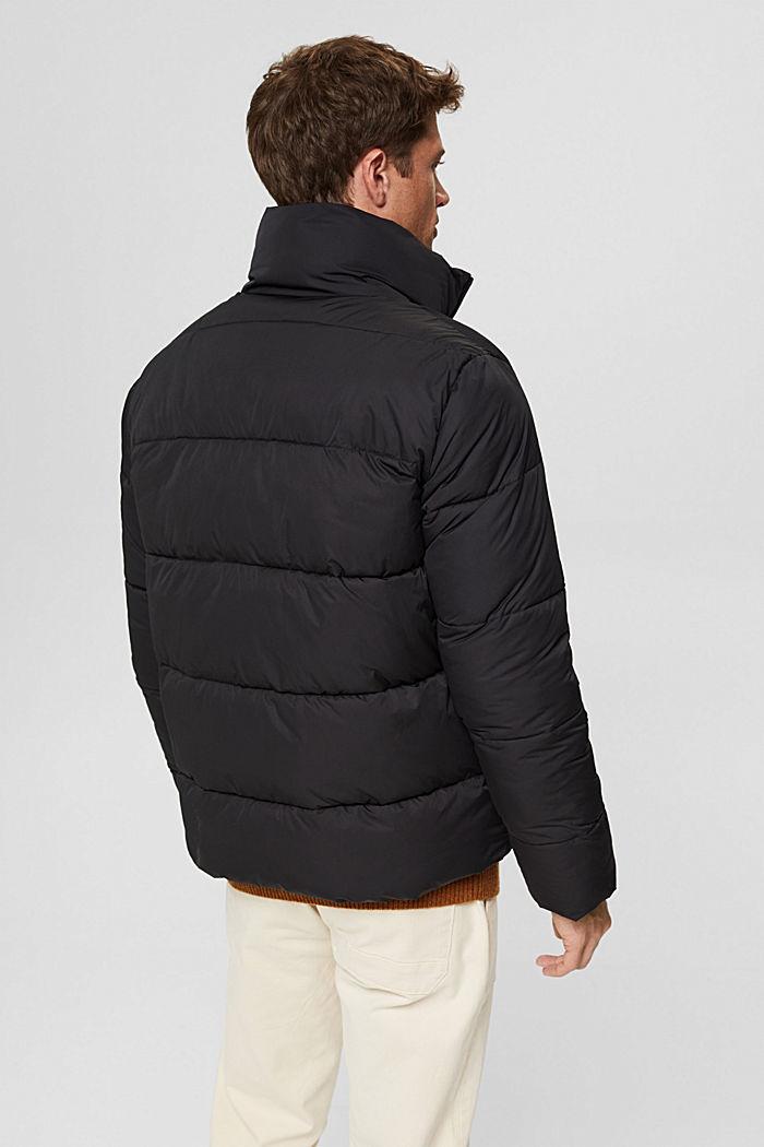 En matière recyclée: la veste matelassée résistante aux intempéries, BLACK, detail image number 3