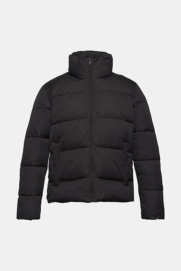 Riciclata: giacca trapuntata resistente alle intemperie