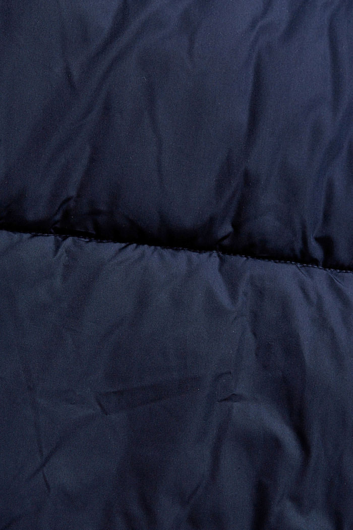 Recycelt: wetterfeste Steppjacke, NAVY, detail image number 4