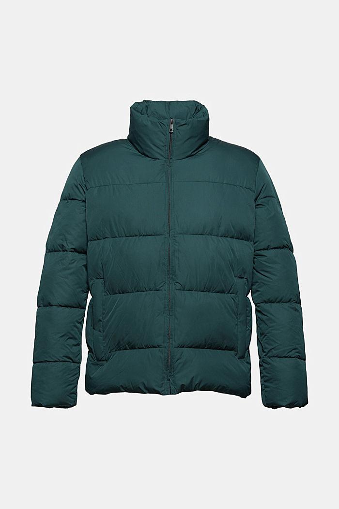 En matière recyclée: la veste matelassée résistante aux intempéries, TEAL BLUE, detail image number 6