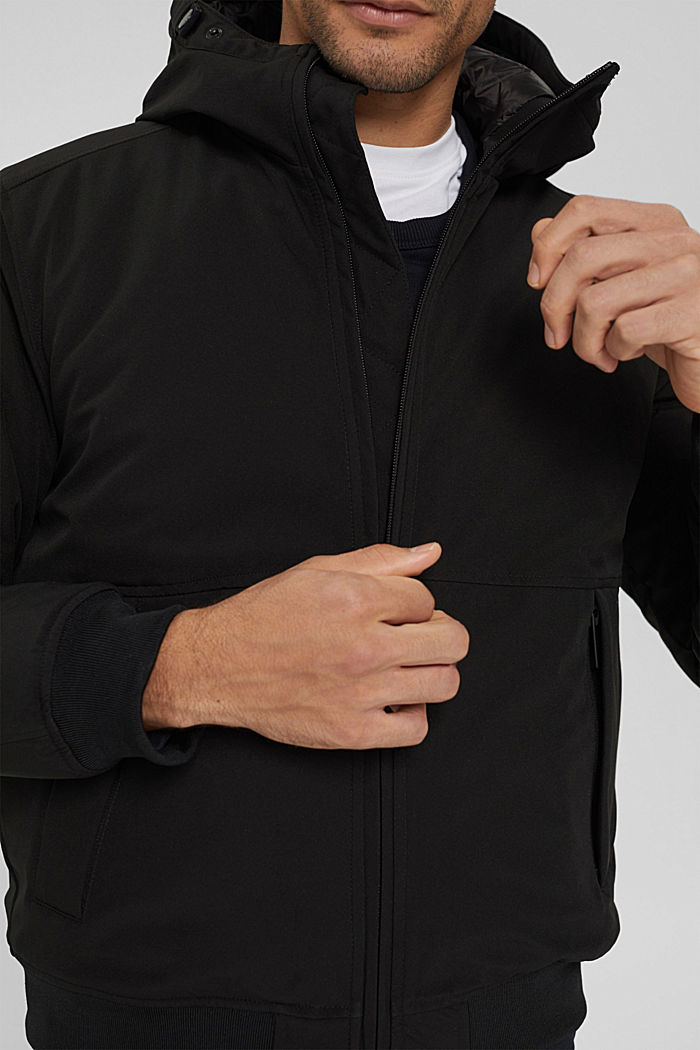 Recycelt: Jacke mit 3M™Thinsulate™, BLACK, detail image number 2