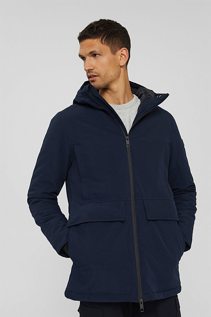 Recycelt: Jacke mit 3M™ Thinsulate™, NAVY, detail image number 0