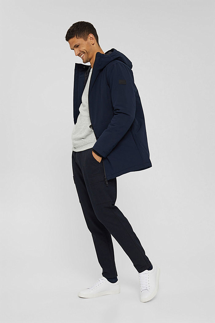 Recycelt: Jacke mit 3M™ Thinsulate™, NAVY, detail image number 4