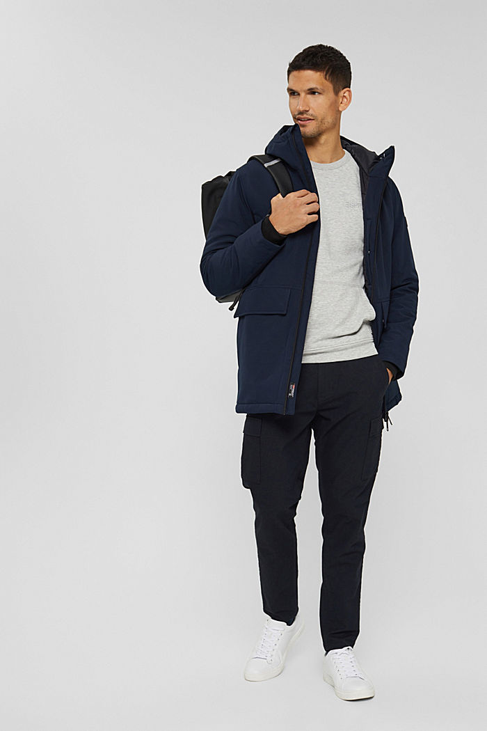 Recycelt: Jacke mit 3M™ Thinsulate™, NAVY, detail image number 1