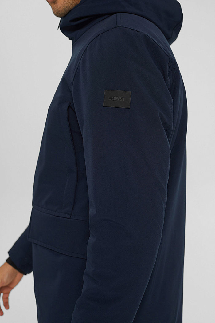 Recycelt: Jacke mit 3M™ Thinsulate™, NAVY, detail image number 2