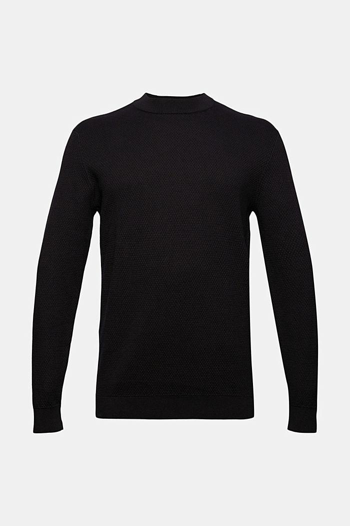 Pullover mit Struktur, 100% Organic Cotton