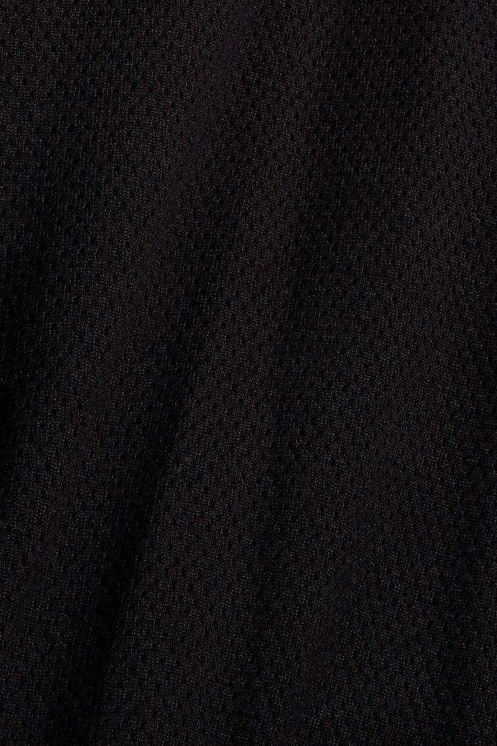 Zipper-Cardigan aus Organic Cotton, BLACK, detail image number 4