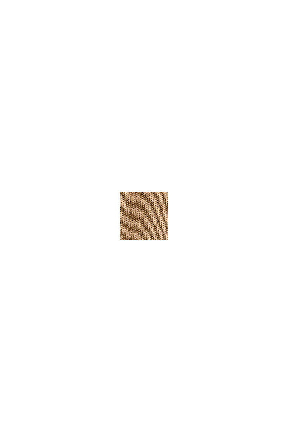 Reciclado: Sudadera con capucha y bordado, BEIGE, swatch