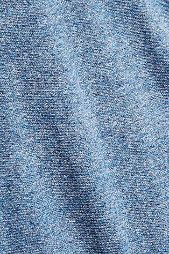 T-shirt en jersey à manches longues, en 100 % coton, BLUE, detail image number 4