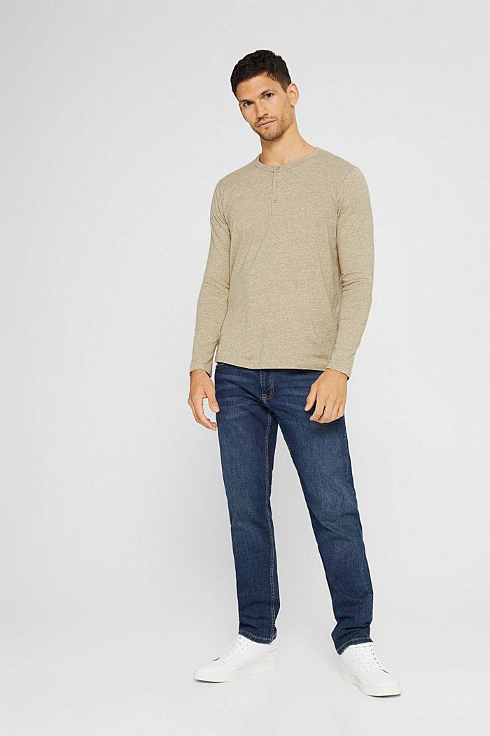 T-Shirts Regular Fit, BEIGE, detail image number 5