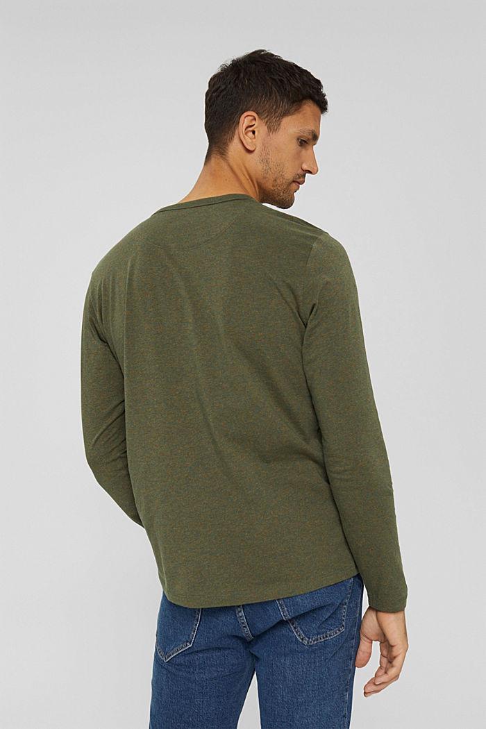 T-Shirts Regular Fit, DARK KHAKI, detail image number 3