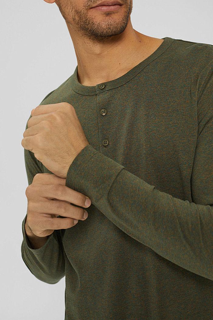 T-Shirts Regular Fit, DARK KHAKI, detail image number 1