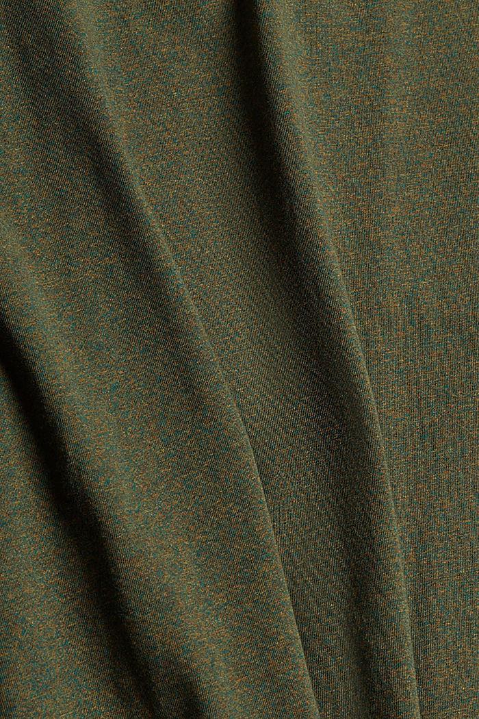 T-Shirts Regular Fit, DARK KHAKI, detail image number 5