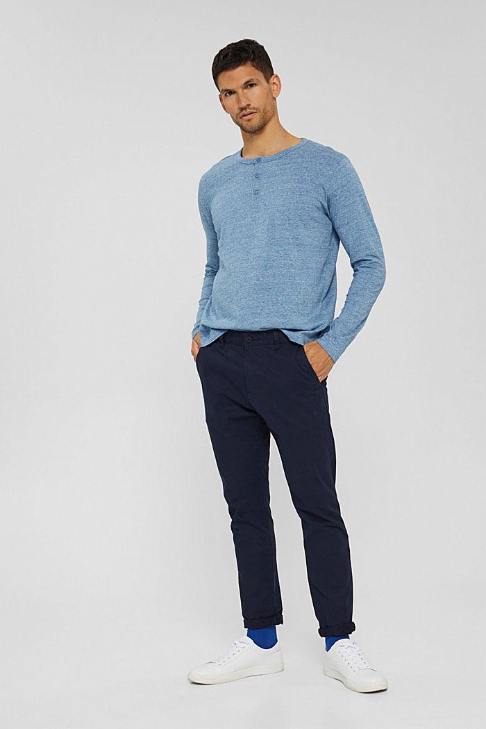 T-Shirts Regular Fit, BLUE, detail image number 6