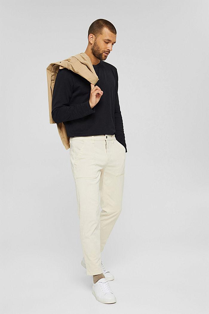 Jersey-Longsleeve aus 100% Organic Cotton