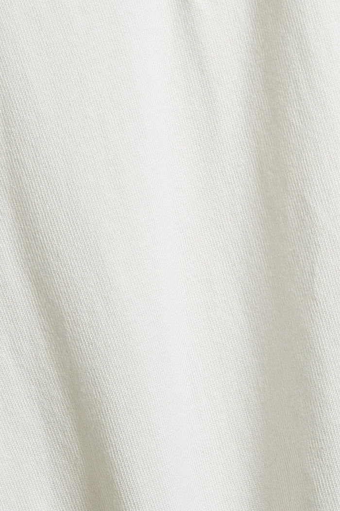 Jersey-Longsleeve aus Organic Cotton, OFF WHITE, detail image number 4