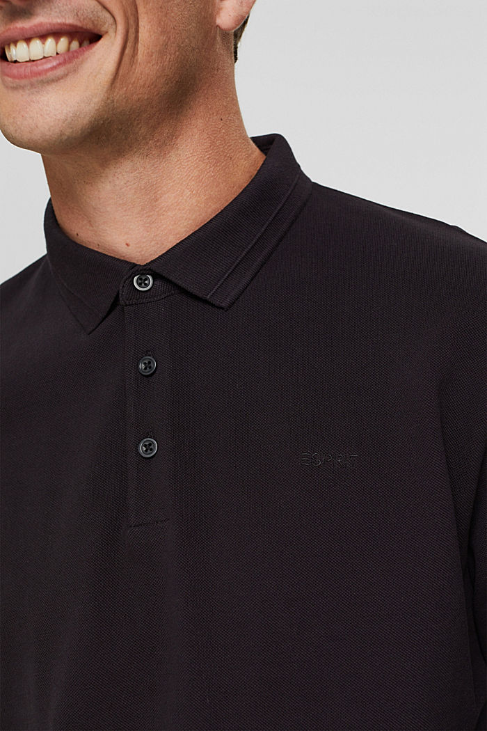 Polo shirts Regular Fit, BLACK, detail image number 1