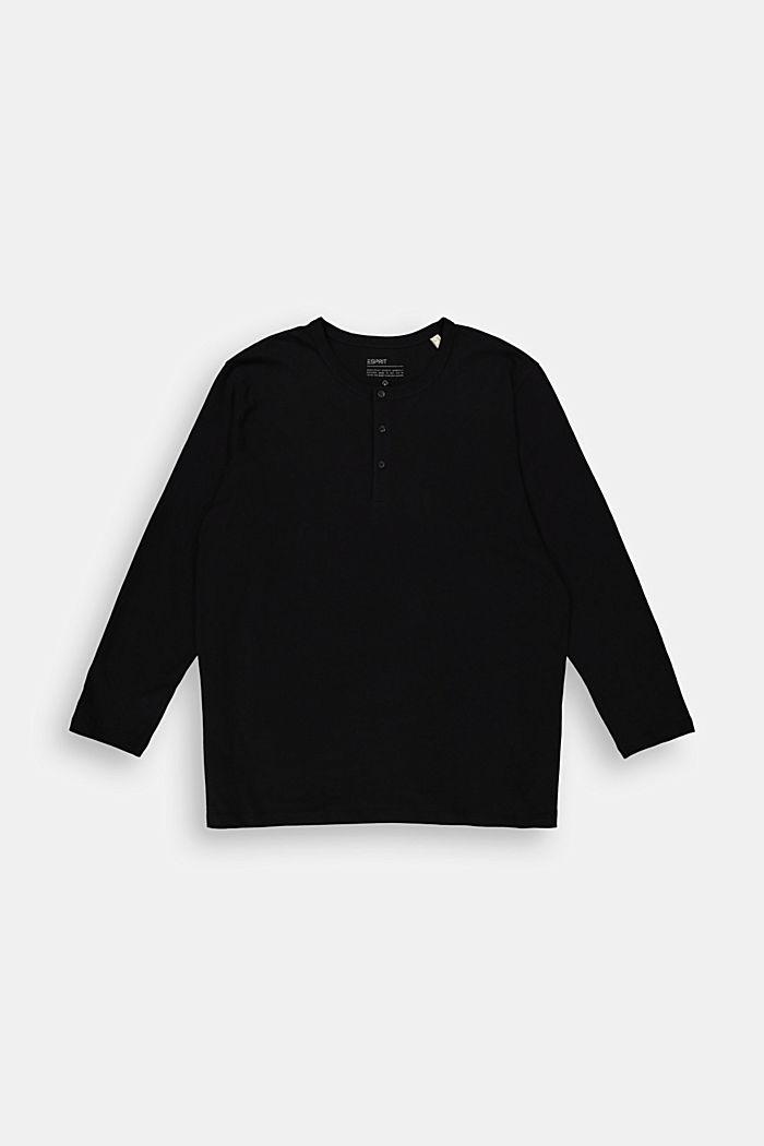 T-Shirts Big Size Fit, BLACK, detail image number 0