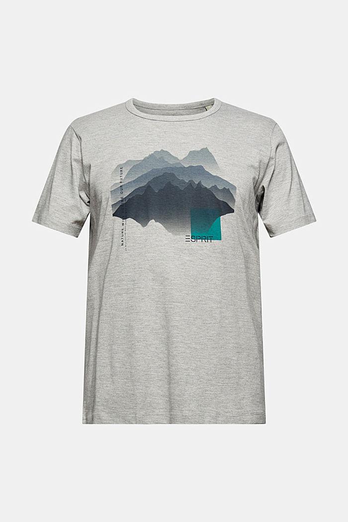 T-Shirts Regular Fit, LIGHT GREY, detail image number 7