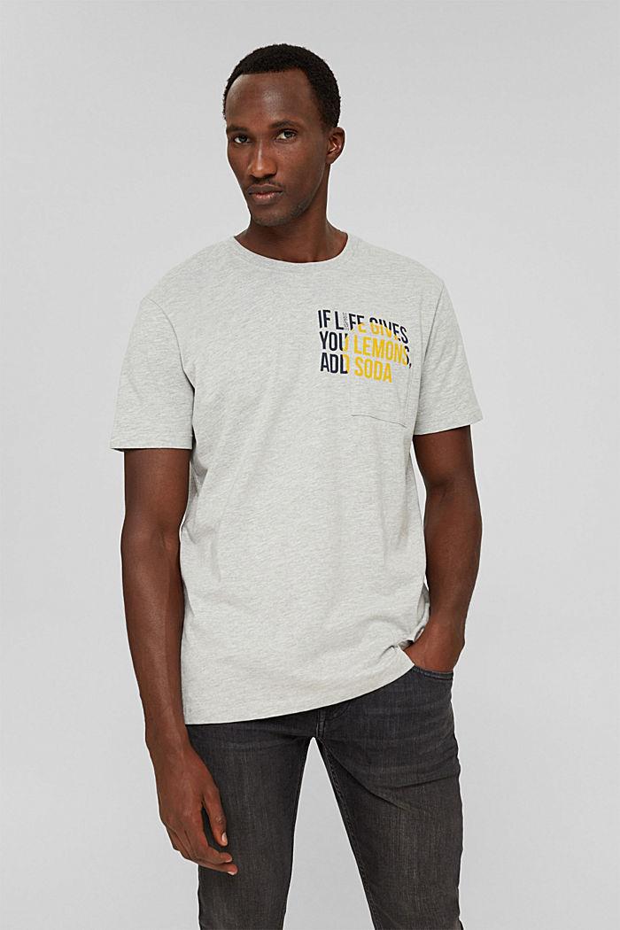 T-Shirts, LIGHT GREY, detail image number 0