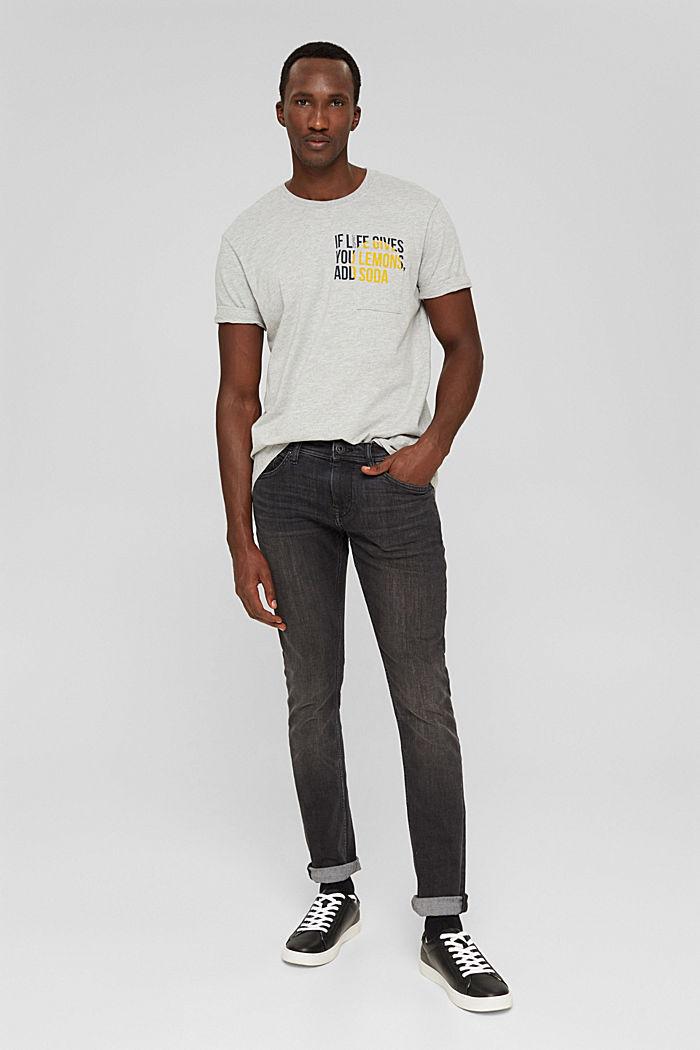 T-Shirts, LIGHT GREY, detail image number 5