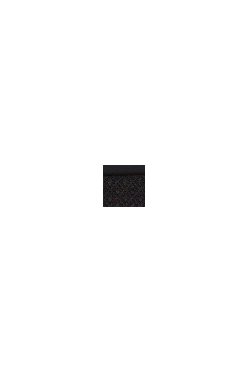 In materiale riciclato: culotte corte morbide al tatto, BLACK, swatch
