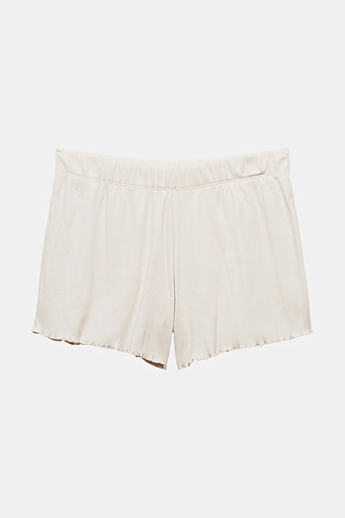 Shorts in cotone a coste