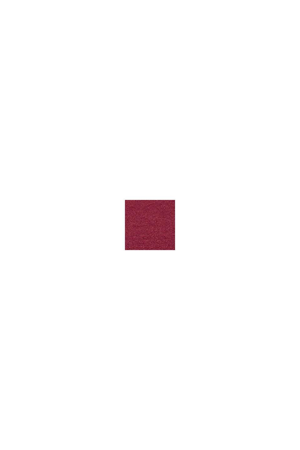 Reciclado: bustier con relleno, DARK RED, swatch