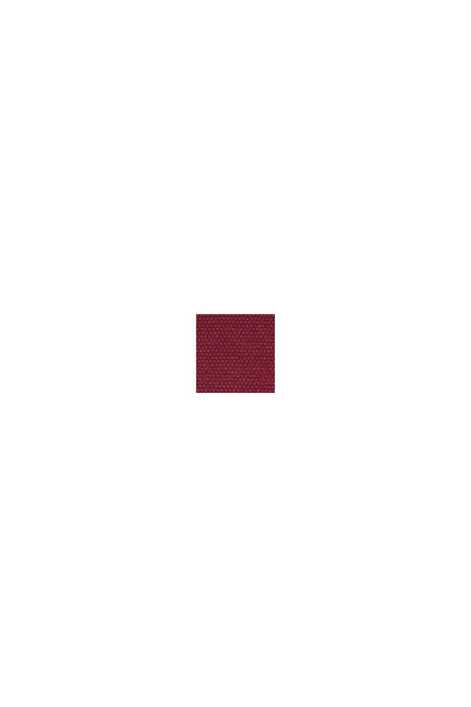 En matière recyclée: le slip taille basse doux et confortable, DARK RED, swatch