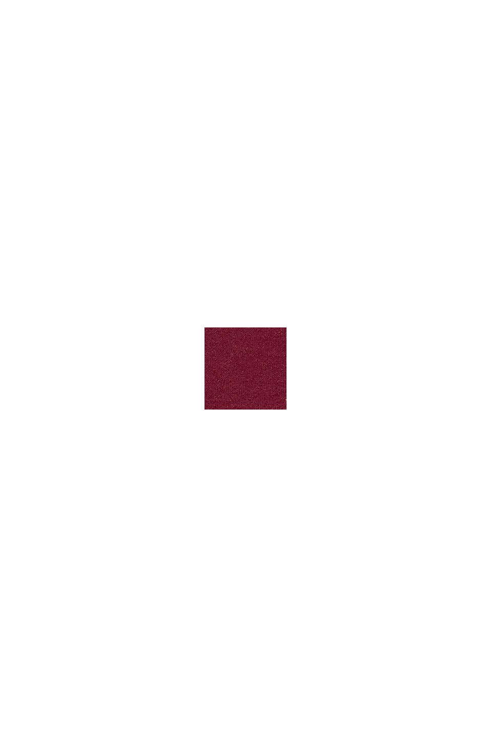 En matière recyclée: le slip taille mi-haute doux et confortable, DARK RED, swatch