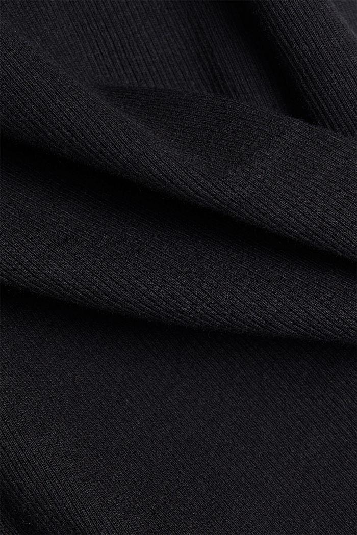 Tops, BLACK, detail image number 3