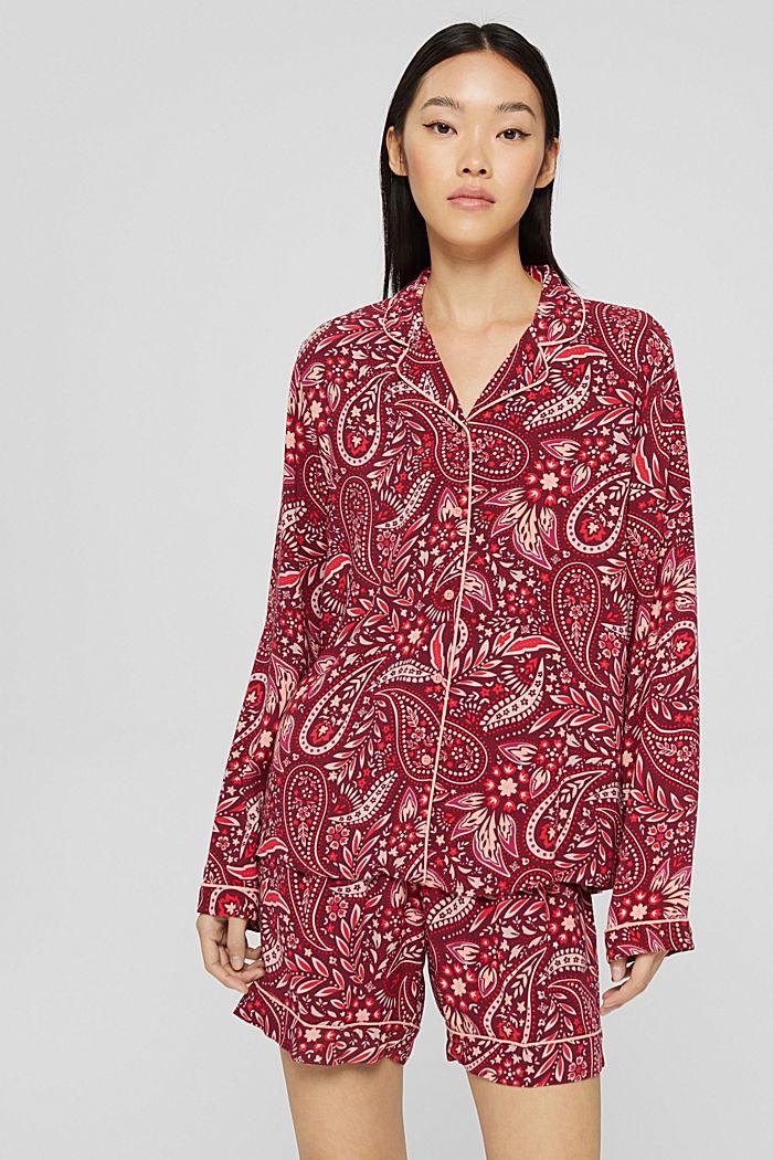 Kort pyjamas i LENZING™ ECOVERO™